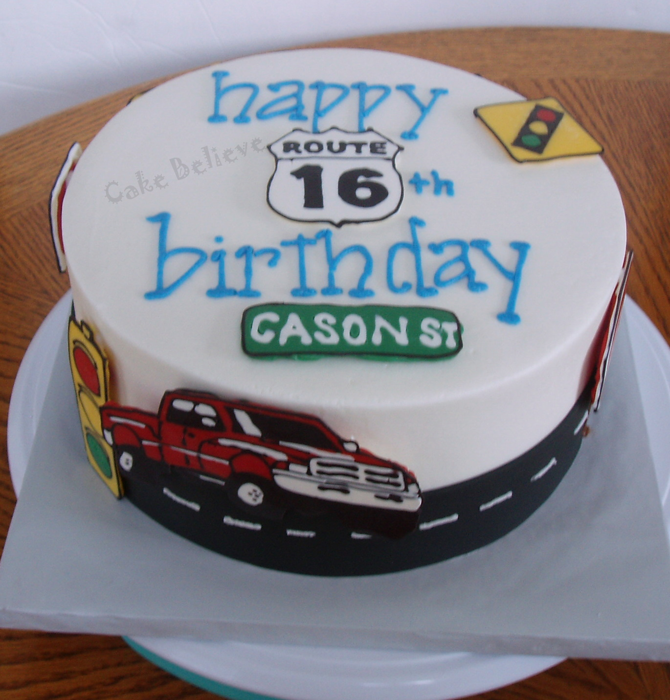Cake Believe: 16th Birthday....now You Can Drive