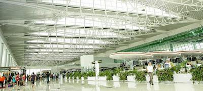 Bandara Sepinggan Balikpapan best indonesian airport