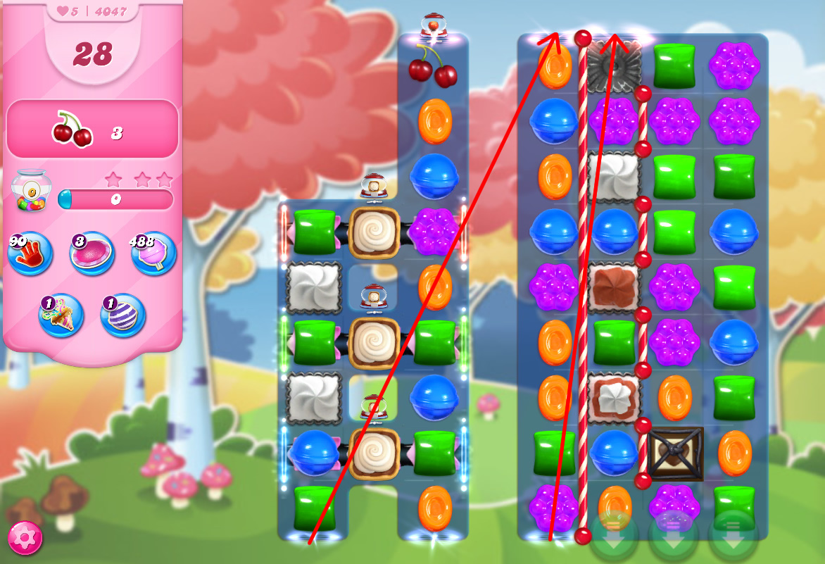 Candy Crush Saga level 4047