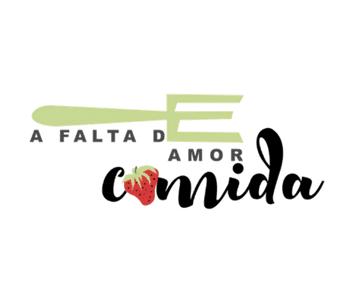 Logotipo de A falta de amor comida