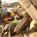 Breaking News:One dead, dozens injured as Catholic Church collapses on worshipers during morning mass in Delta State