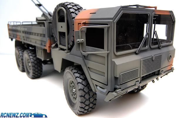 RC4WD Beast 2 6x6 camo paint job