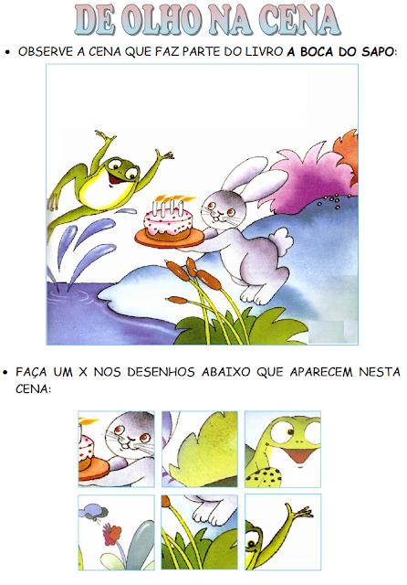 De olho na cena - A BOCA DO SAPO