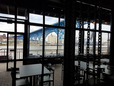 craft beer, Flats East Bank, cleveland, river, dining on the waterfront