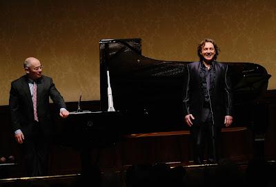 Iain Burnside & Ivan Magrì at Rosenblatt Recitals (Photo Jonathan Rose)
