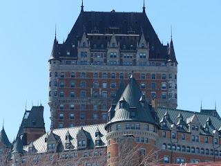 Hôtel Frontenac - Château Frontenac - Vu depuis Québec
