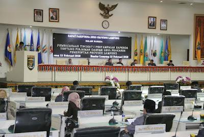 Percepat Pembangunan Infrastruktur, Gubernur Ridho Ajukan Raperda Perbaikan 6 Ruas Jalan