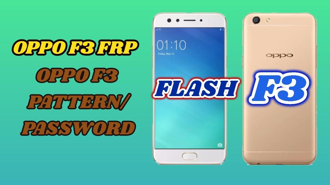 OPPO F3 CPH1609EX Network /Country Unlock Method Fingerprint