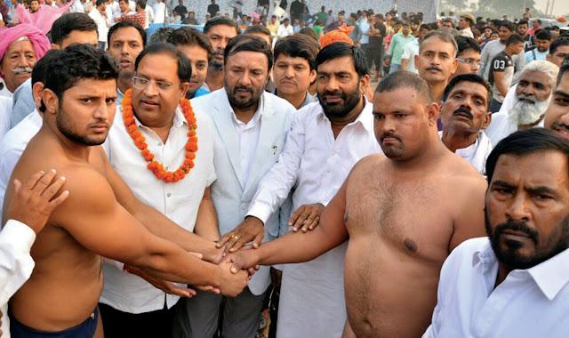 leela-thakur-memorial-wrestling-competition-kheri-pul-old-faridabad