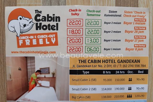 Hotel Murah Di Jogja Cuma 90 Ribuan Bebas Check In Kapanpun Review The Cabin Hotel Beaufavele By Diannopiyani