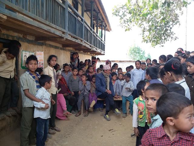 school screening in Remote District of Nepal