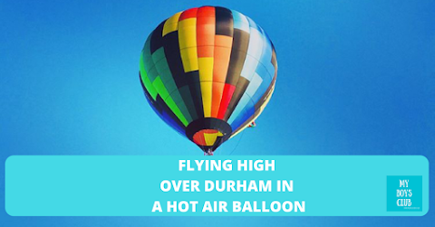Flying High over Durham (AD)