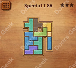 Cheats, Solutions, Walkthrough for Wood Block Puzzle Special I Level 85