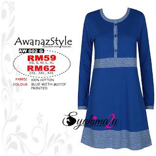 T-Shirt-Muslimah-Awanazstyle-AW002G
