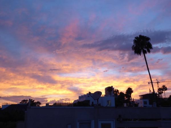 LA Summer sky