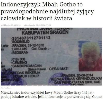 Mbah Gotho, Pria Tertua di Dunia Asal Sragen Jadi Pemberitaan Media Asing