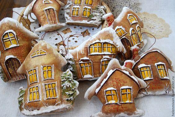 domki malowane i szyte