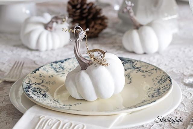 white baby boo pumpkin
