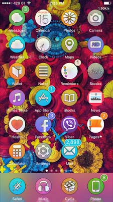 Well, I have listed the Top 10 best iOS 9.3.3 compatible Anemone - Winterboard themes which are freshly designed for all iPhone, iPad & iPod touch which changes your HomeScreen layout in a beautiful way and supports both Anemone & Winterboard.