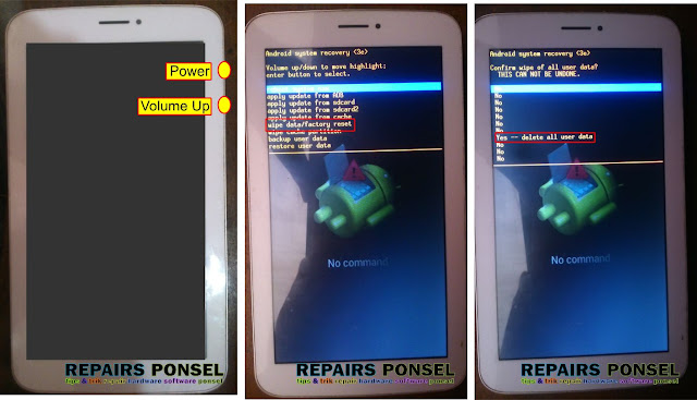 Hard Reset Tablet Advan T1L