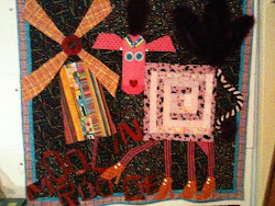 MOOlon Rouge cow by Sandy Fisher