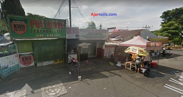 Lokasi Penjemputan Ojek Online di Alun-Alun Batu Malang