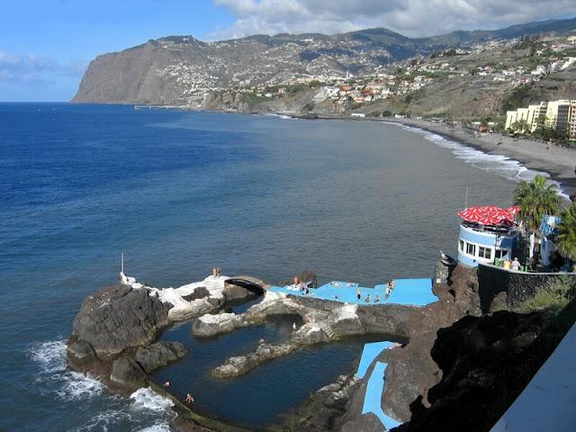 Playa Doca do Cavacas -  Funchal - Madeira