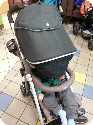 asleep in buggy, kiddy pushchair review, city n move