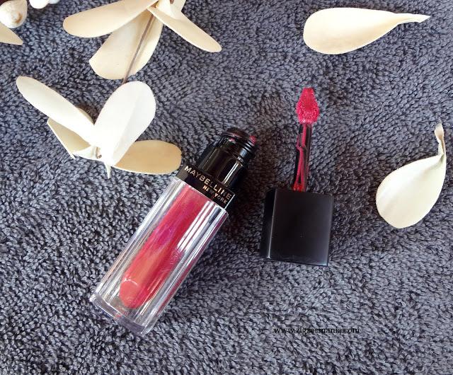 Maybelline Color Sensational Velvet Matte Lipstick in Matte 6 Review