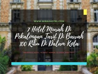 7 Hotel Murah Di Pekalongan Tarif Di Bawah 100 Ribu Di Dalam Kota