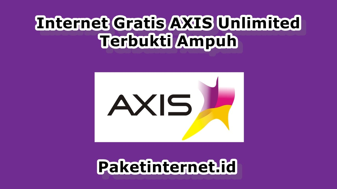 Internet Gratis Axis Unlimited
