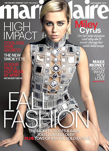 Marie Claire - Miley Cyrus