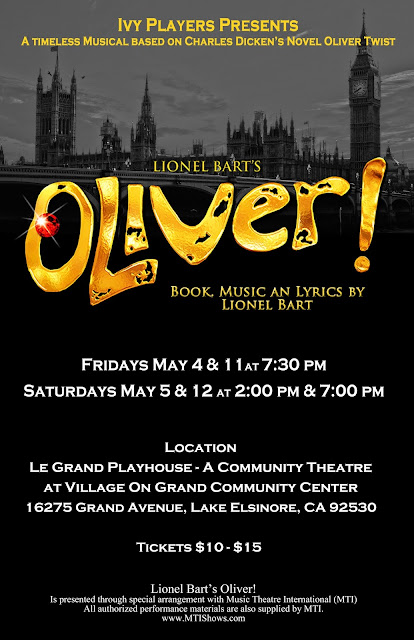 Oliver by the Ivy Players at the Village on Grand