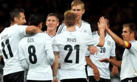 Jerman vs Armenia