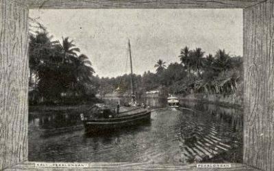 Foto sungai di pekalongan pada jaman dulu