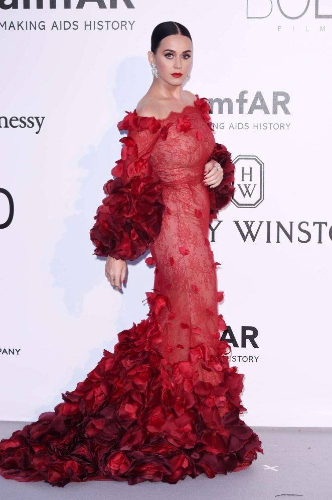Katy Perry – amfAR's 23rd Cinema Against AIDS Gala in Antibes