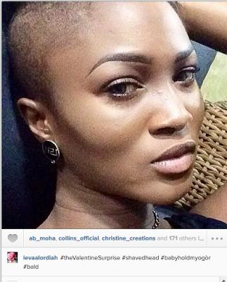 Entertainment Photo Por Nigerian Female Rer Shaves Off Head As Valentine Surprise Tg News
