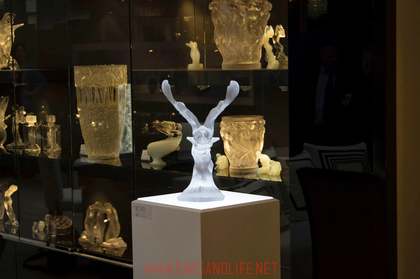 Lalique Collection at Mayfair, London