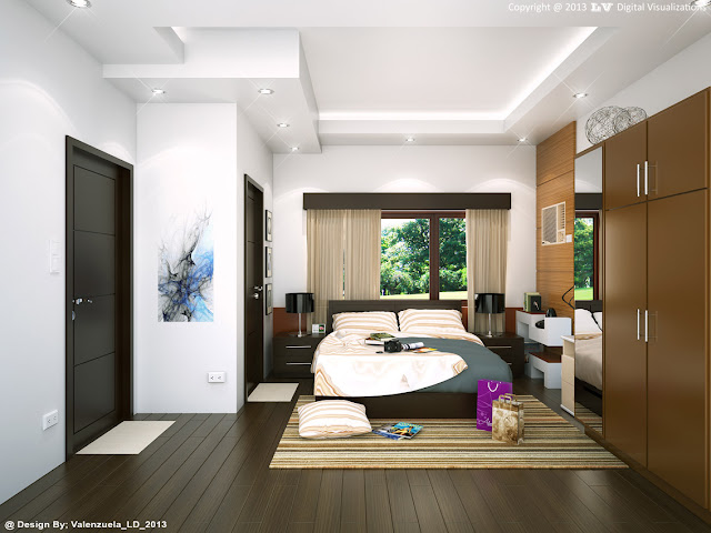 sketchup model bedroom #3 vray 1.49 render_1