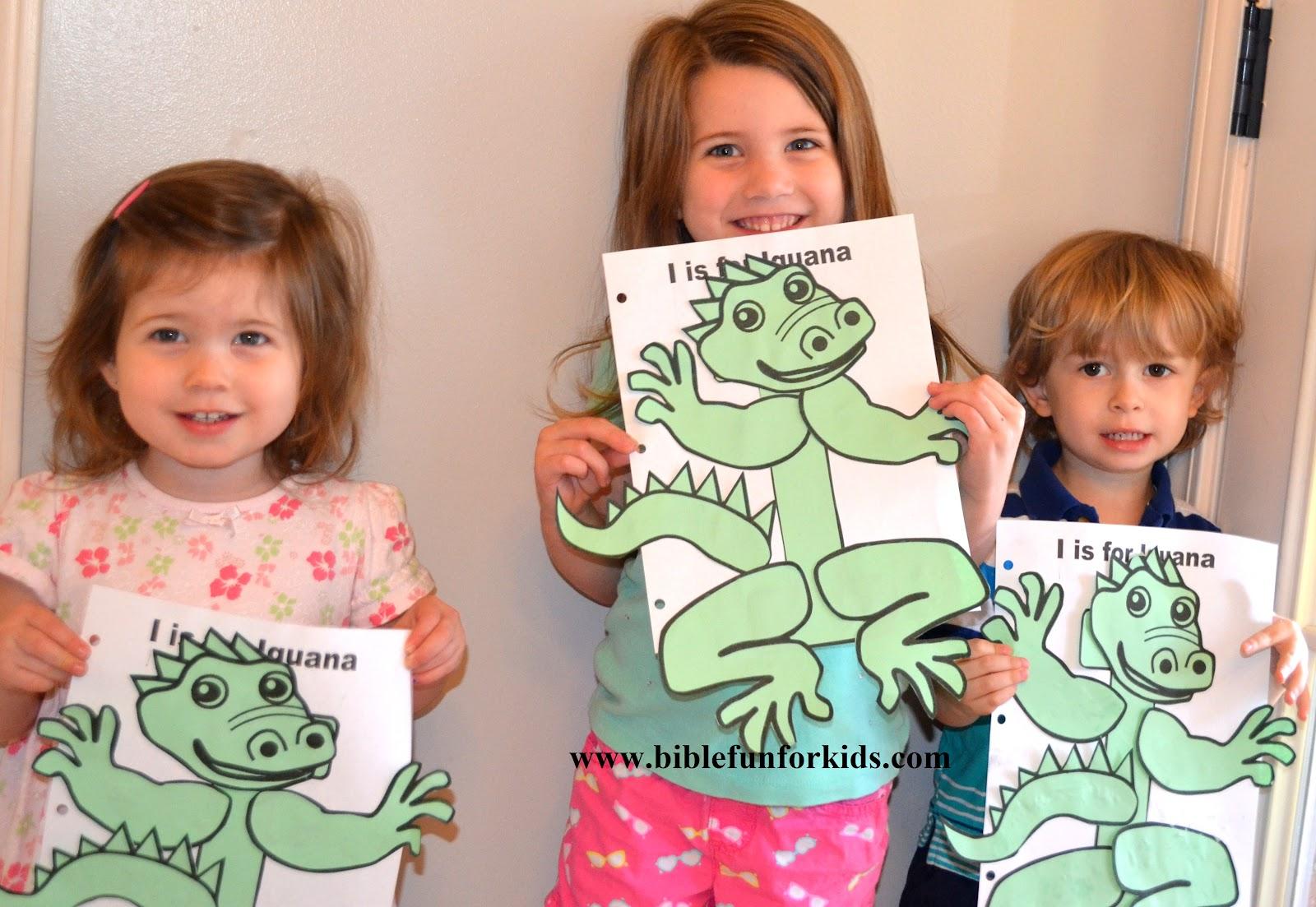 Bible Fun For Kids Preschool Alphabet I Is For Isaiah