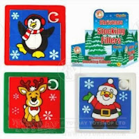 Christmas Slide Puzzle Stocking Filler Toys