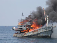 Mnatap, Menteri Susi Tengelamakan kapal kapal Berbendera Vietnam,,