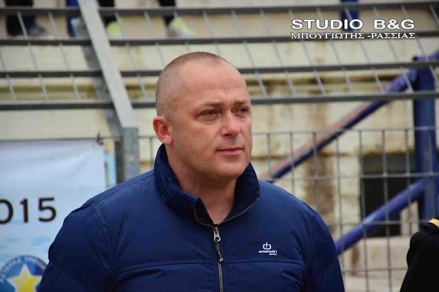 Γιάννης Μαντζούνης: Την χρηματοδότηση του του νέου γηπέδου ποδοσφαίρου της ΕΠΣ ΑΡΓΟΛΙΔΑΣ εξασφάλισε ο κ. Πέτρος Τατούλης