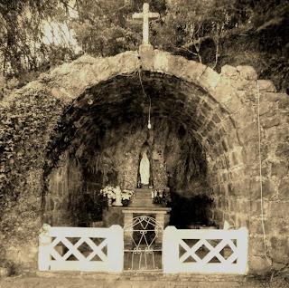 Gruta Nossa Senhora de Lourdes, na Cidade de Protásio Alves