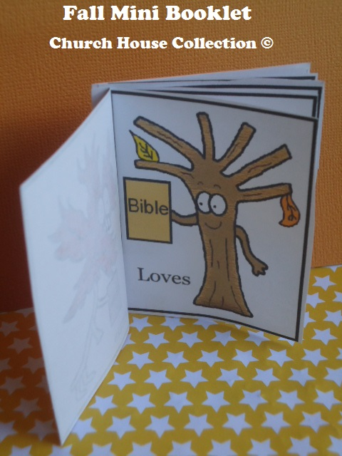 Church House Collection Blog Fall Mini Booklet For Kids