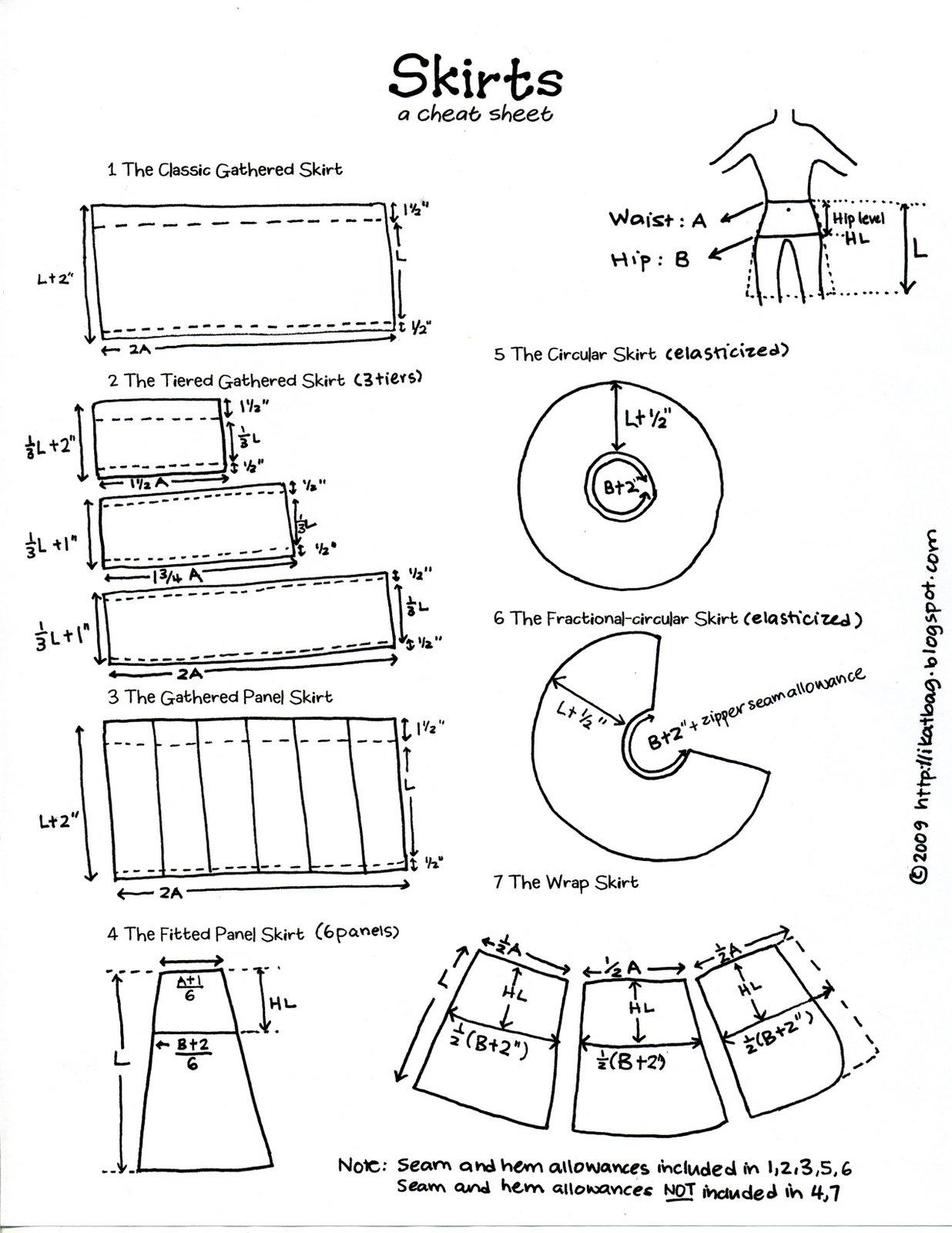 Creativacale Suknje Skirts