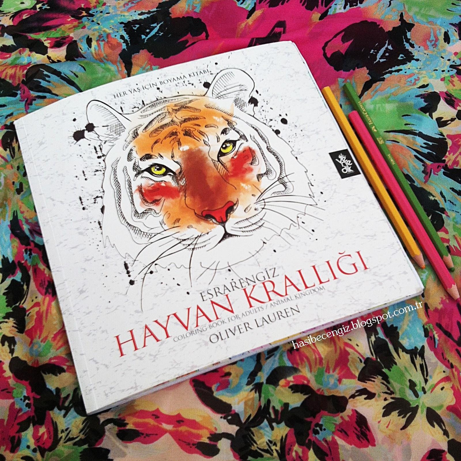 Hasibe Cengiz Kisisel Blog Hobi Yetiskinler Icin Boyama Kitabi