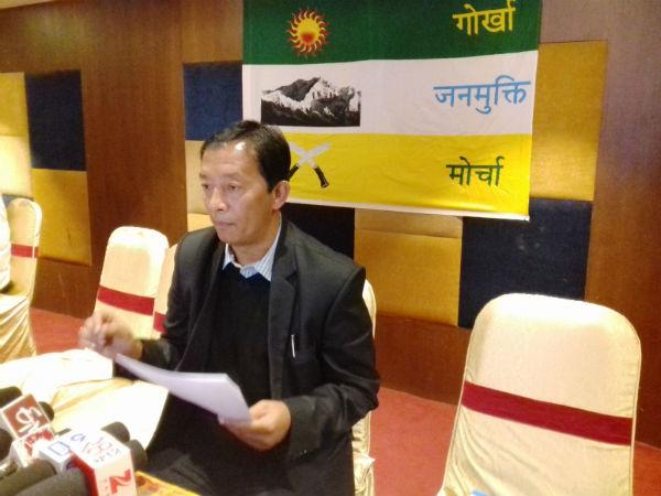 Binay Tamang Gorkha Janmukti Morcha president