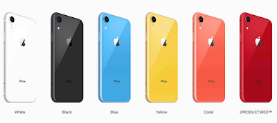 new iPhone XR, iPhone XS or iPhone XS Max