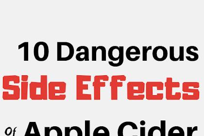 8 Lethal Side Effects Of Apple Cider Vinegar